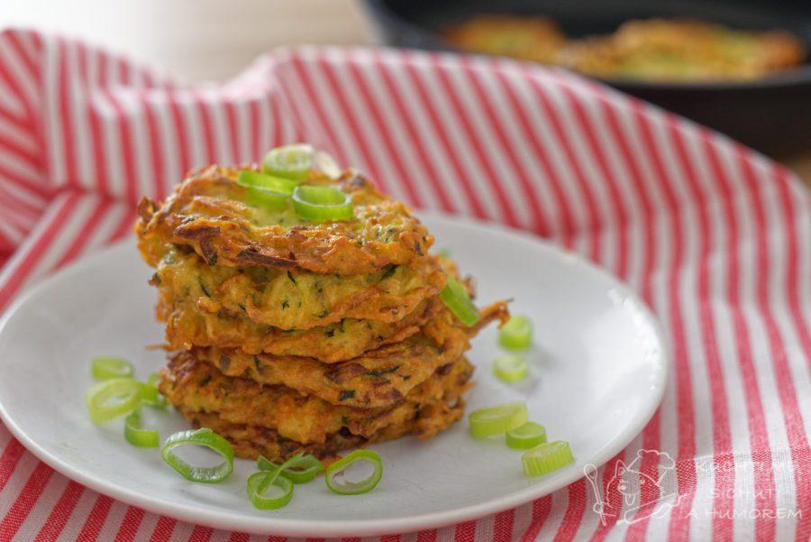 Hlavní fotka k receptu Cuketové bramboráky