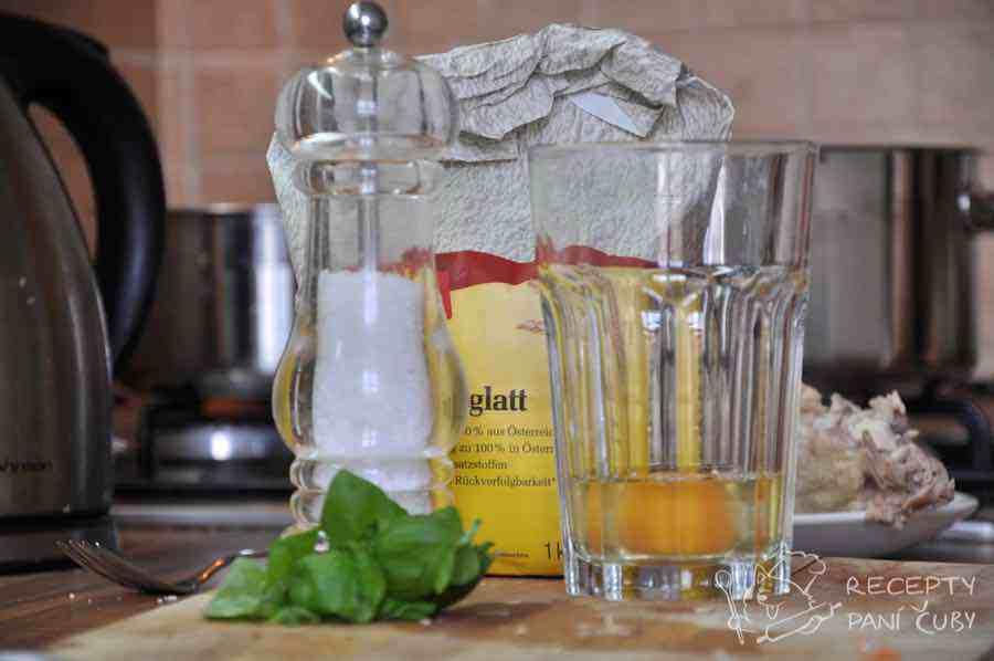 Hlavní fotka k receptu Kapání do polévky
