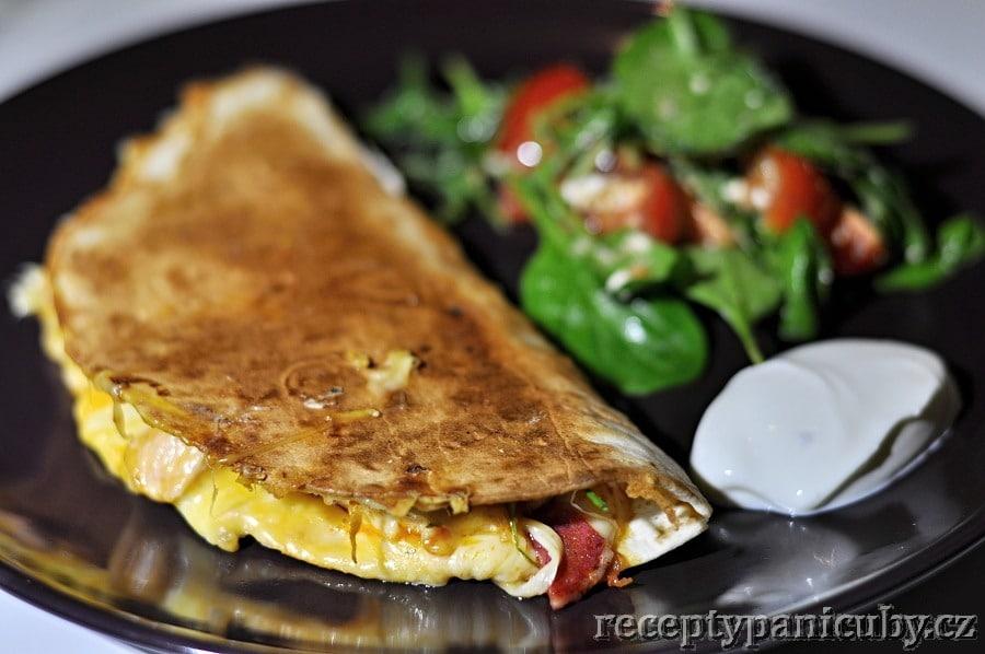 Hlavní fotka k receptu Čubí quesadillas