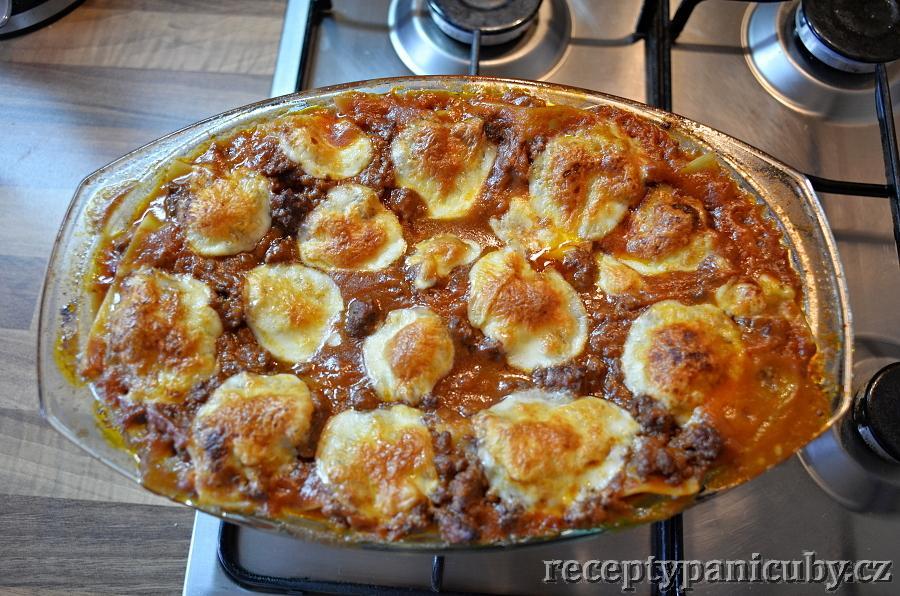 Pravé italské lasagne signory Ciuby - no prostě nádhera