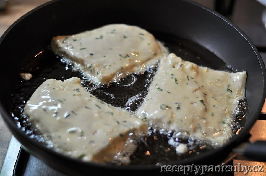 Bylinkové fish & chips paní Čuby - smažíme na oleji