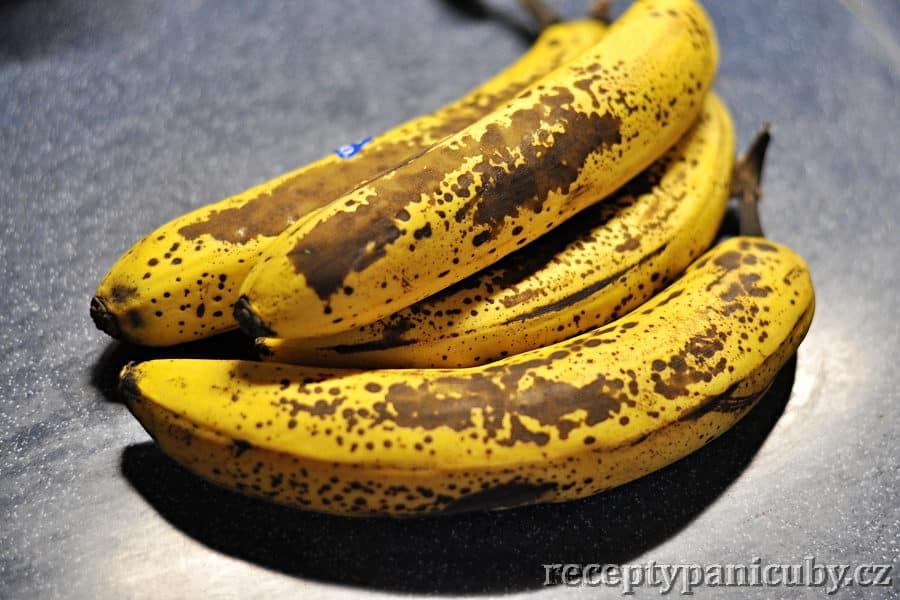 Banánové muffiny - a na počátku byl banán