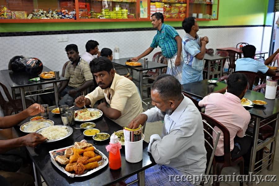 Srílanská kuchyně - mezi místními jako doma