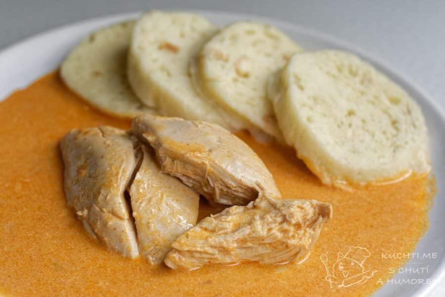 Hlavní fotka k receptu Kuře na paprice