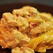 Citrónové těstoviny se smetanovým kuřátkem