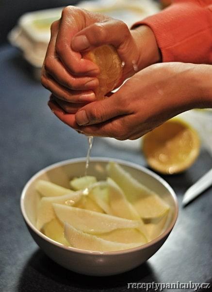 Hruškový koláč s mascarpone - citron to je