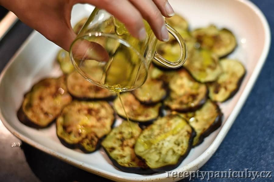 Lilkový salát - lilek s olejem
