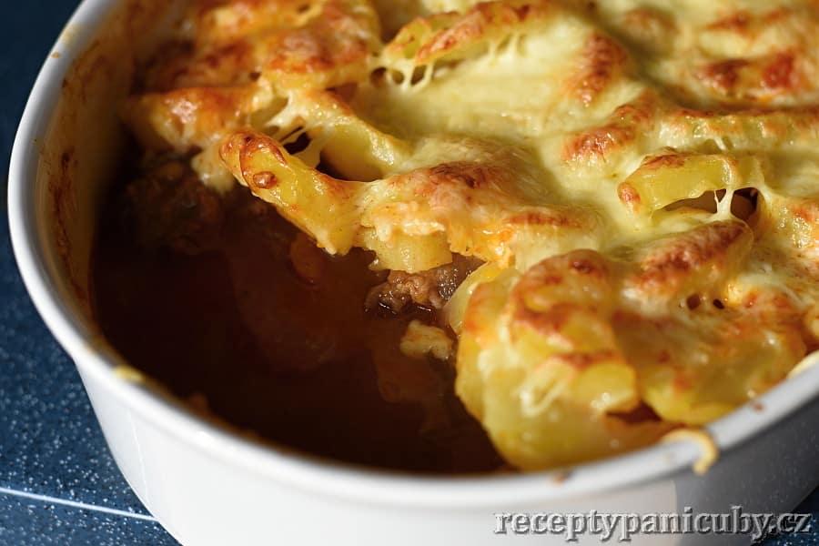 Pečené hovězí s bramborem a sýrem - ohlala podruhé