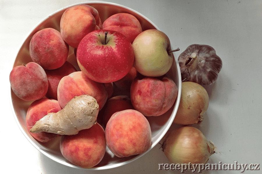 Hlavní fotka k receptu Broskvové čatní