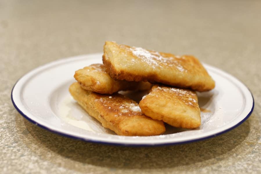 Jablečné taštičky jak od Mcmaminky - hotovo :)