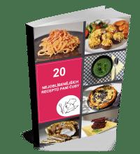 eKuchařka 20 nejoblíbenějších receptů paní Čuby