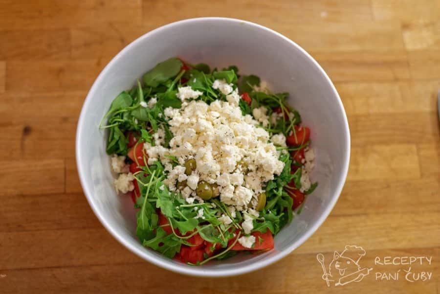 Melounový salát - balkánek na konec