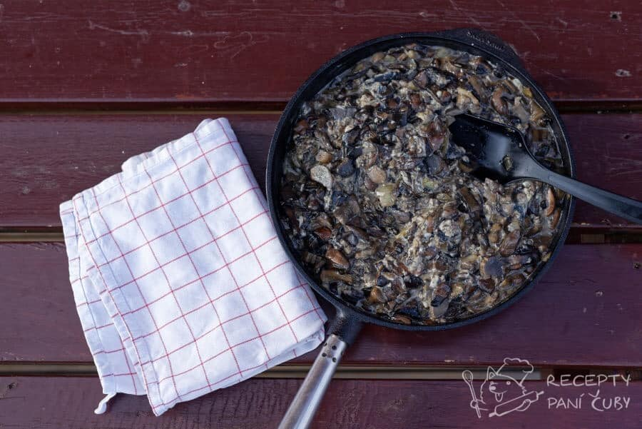 Hlavní fotka k receptu Houbová smaženice