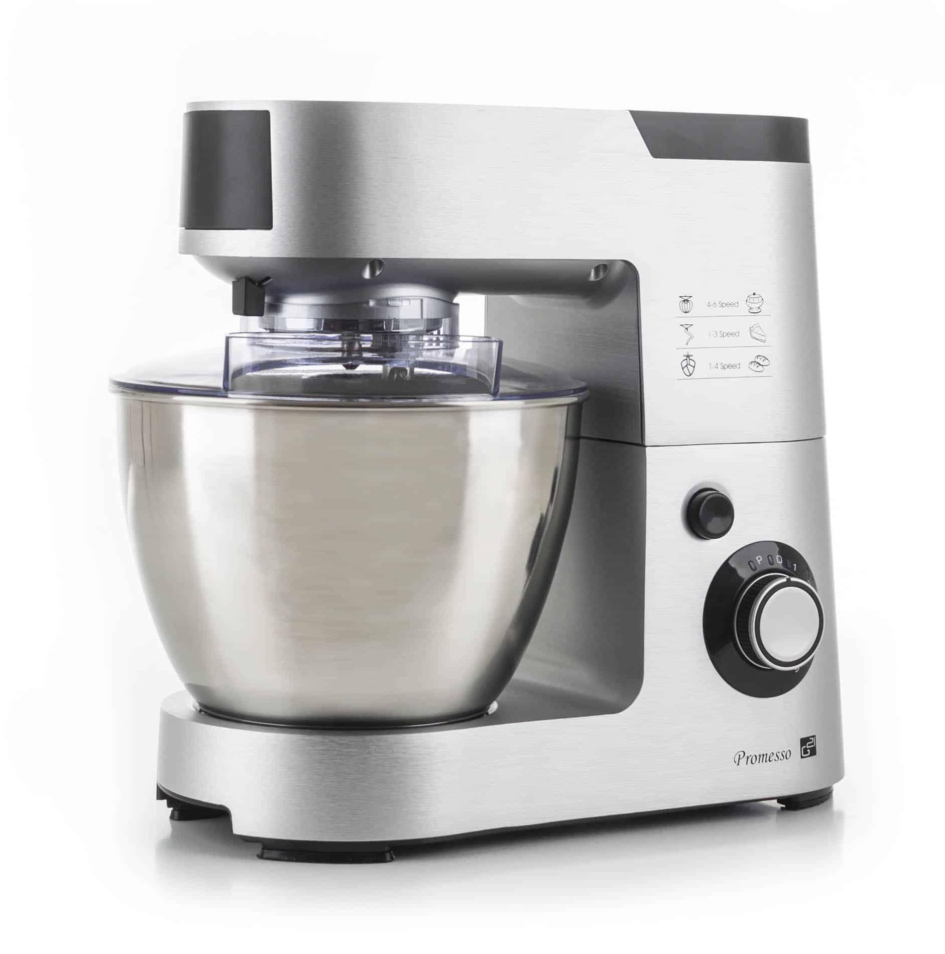 Kuchyňský robot Promesso Aluminium