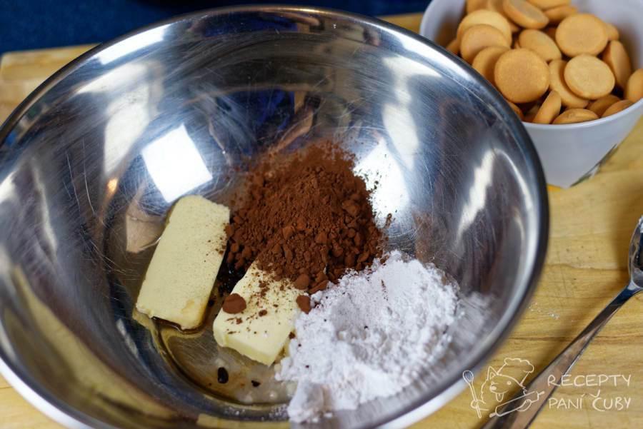 Kakaová vosí hnízda - připravíme si směs na kakaovou hmotu