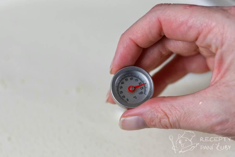 Domácí skořicovo-vaječný likér - šleháme na 80°C