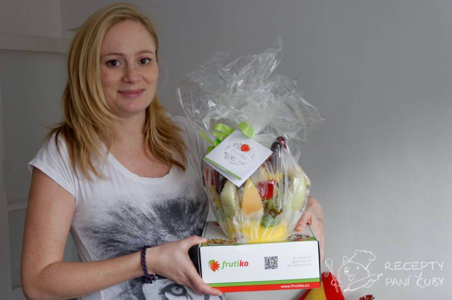 Recenze ovocné kytice Frutiko - veliká radost to je :)