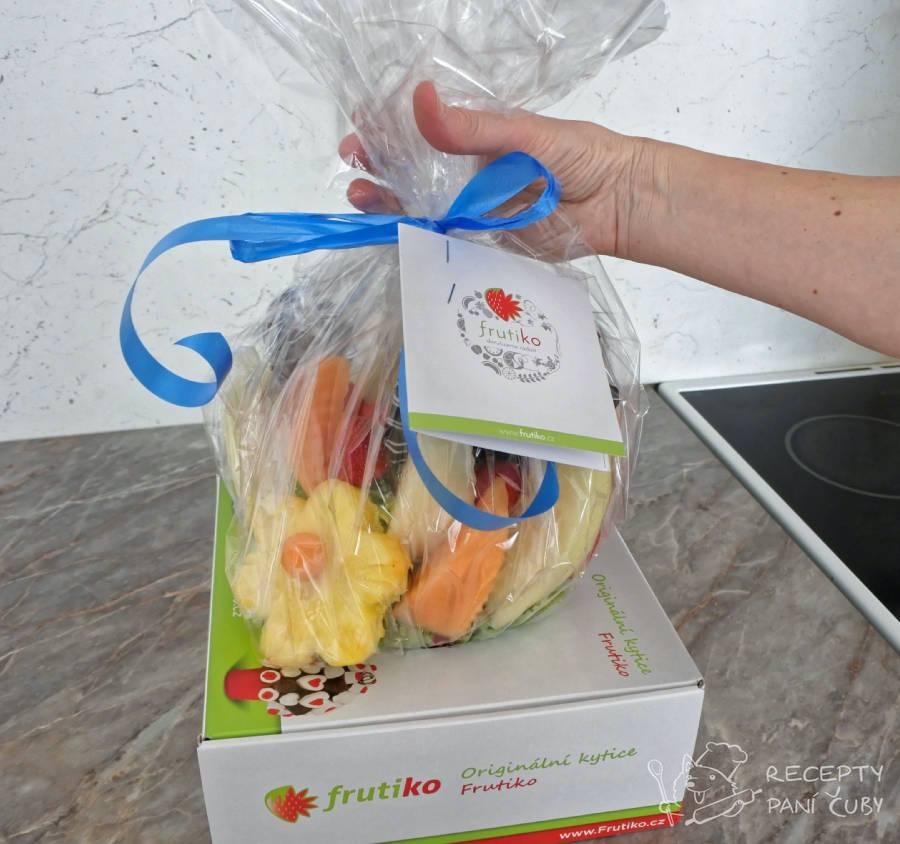 Recenze ovocné kytice Frutiko - super hezké balení