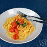 Špagety s rajčaty – Spaghetti con pomodori