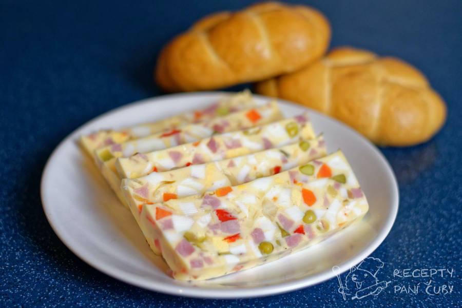 Velikonoční recepty - Vaječná tlačenka