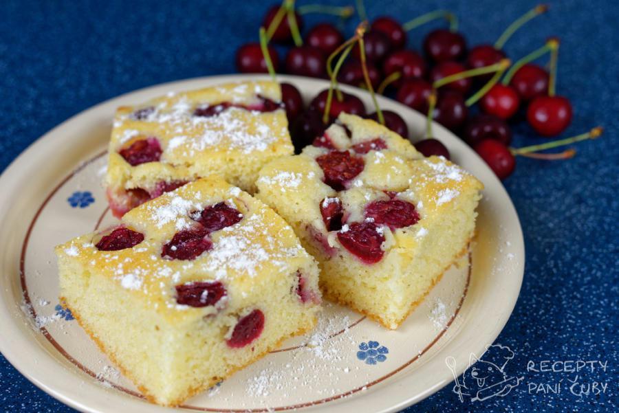 Hlavní fotka k receptu Bublanina s třešněmi