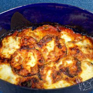 Parmigiana - zapečený lilek