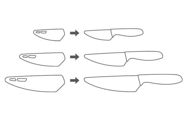 K noži je dodáváno také ochranné pouzdro