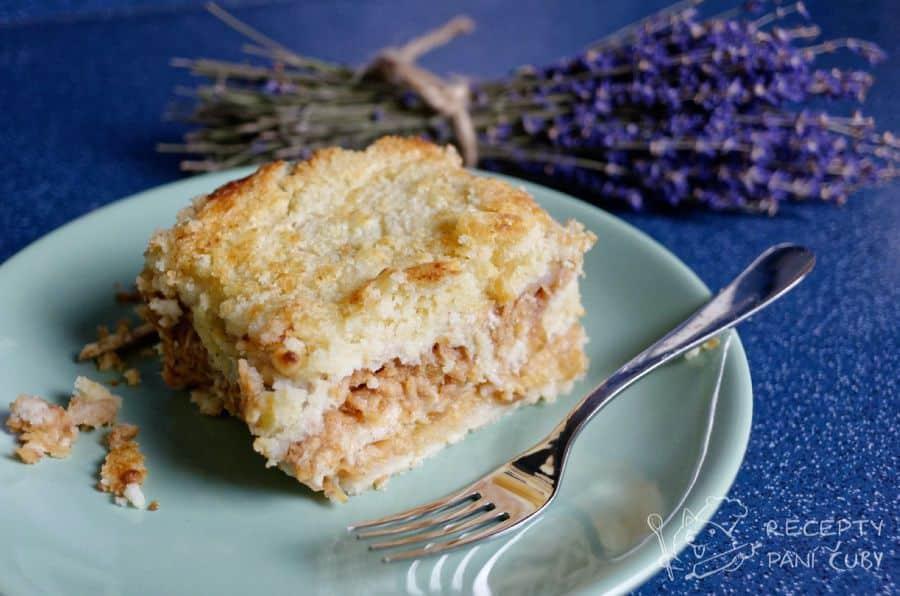 Hlavní fotka k receptu Jablečný koláč bez vajec