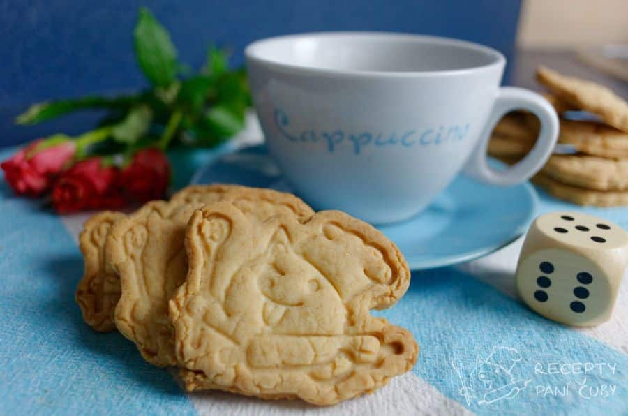 Hlavní fotka k receptu Máslové – marcipánové sušenky