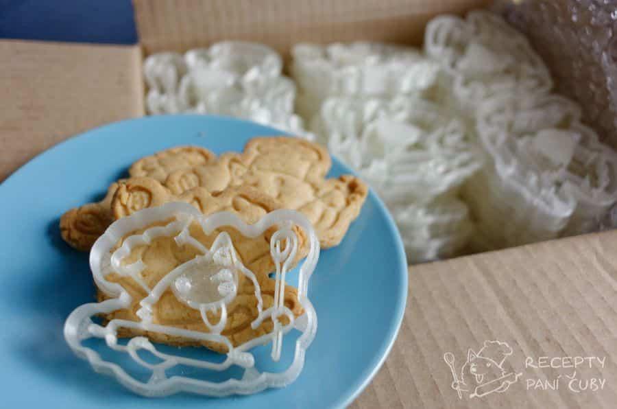Máslové - marcipánové sušenky - originální Čubí tiskátko
