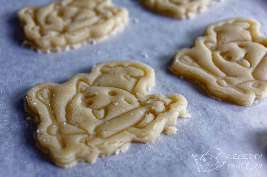 Máslové - marcipánové sušenky - rozkošní pejskové, že?