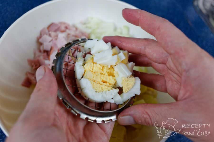 Bramborový salát s kari - přidáme vajíčko