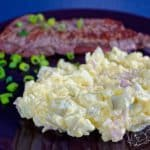 Bramborový salát s kari