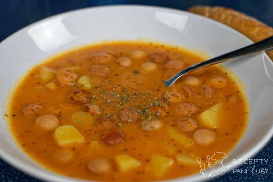 Hlavní fotka k receptu Frankfurtská polévka