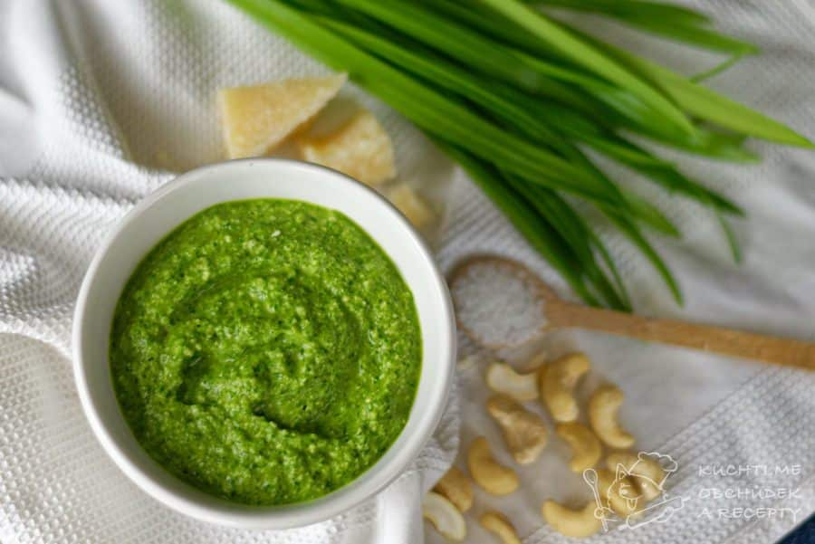 Hlavní fotka k receptu Pesto z medvědího česneku