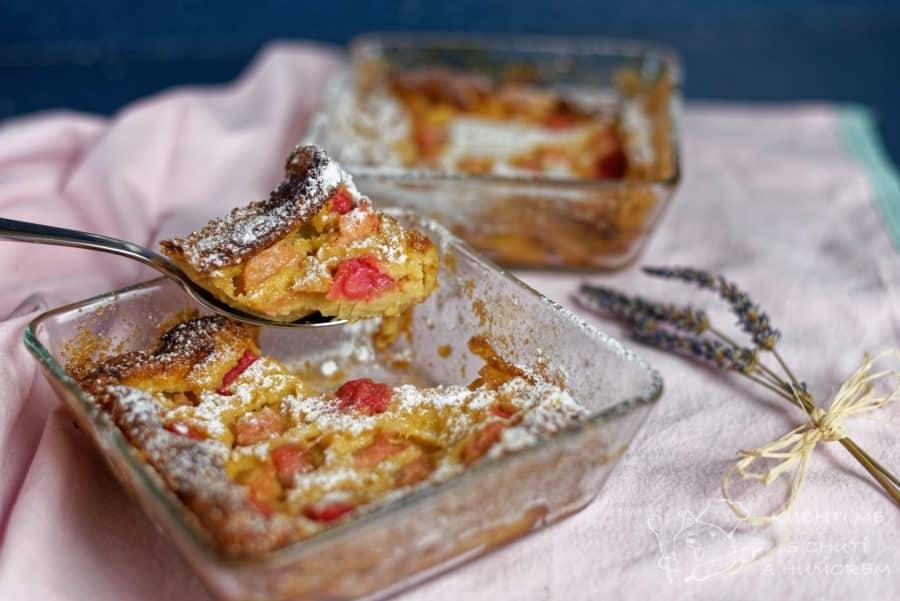 Hlavní fotka k receptu Rebarborový koláč