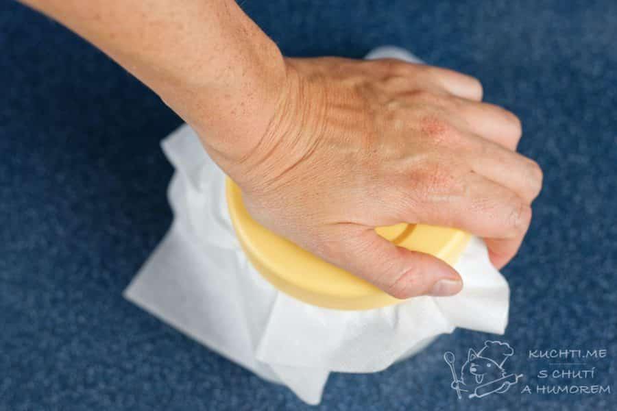 Čerstvý sýr - tlačíme tlačíme