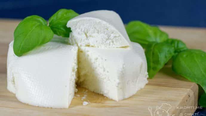 Čerstvý sýr - finální nádhera