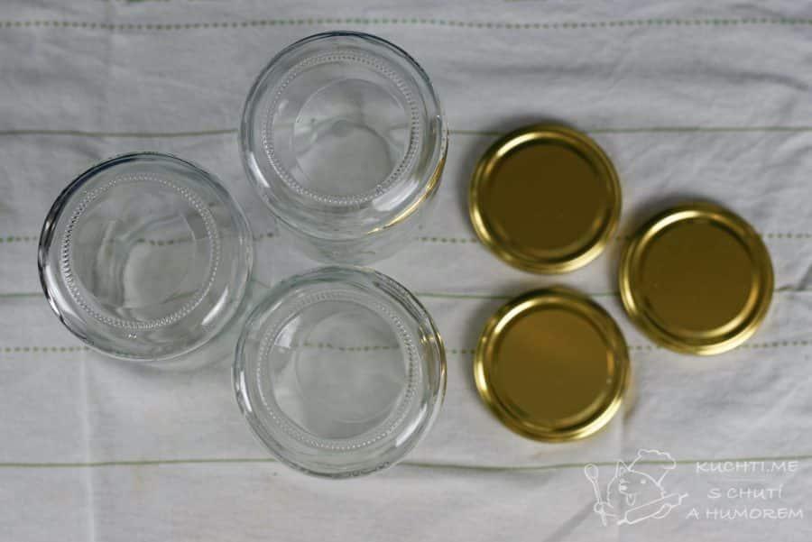 Zavařování masa - připravte si pečlivě vymyté sklenice