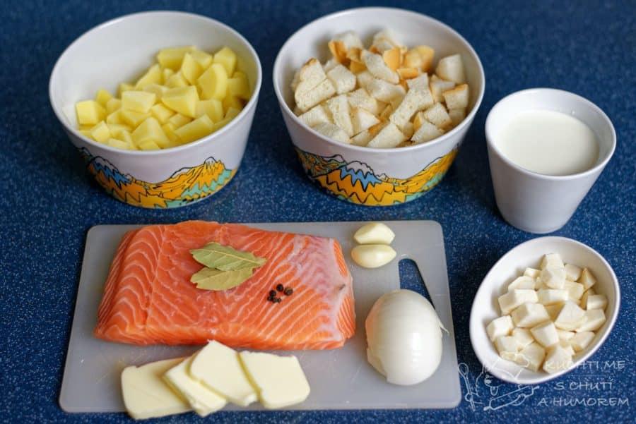 Krémová lososová polévka - jdeme na věc