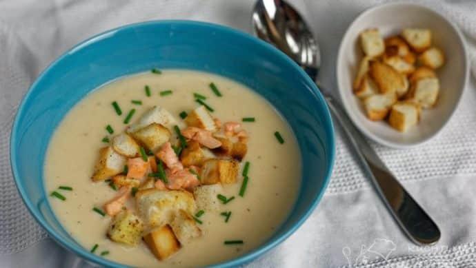 Krémová lososová polévka - nádherná dokonalost