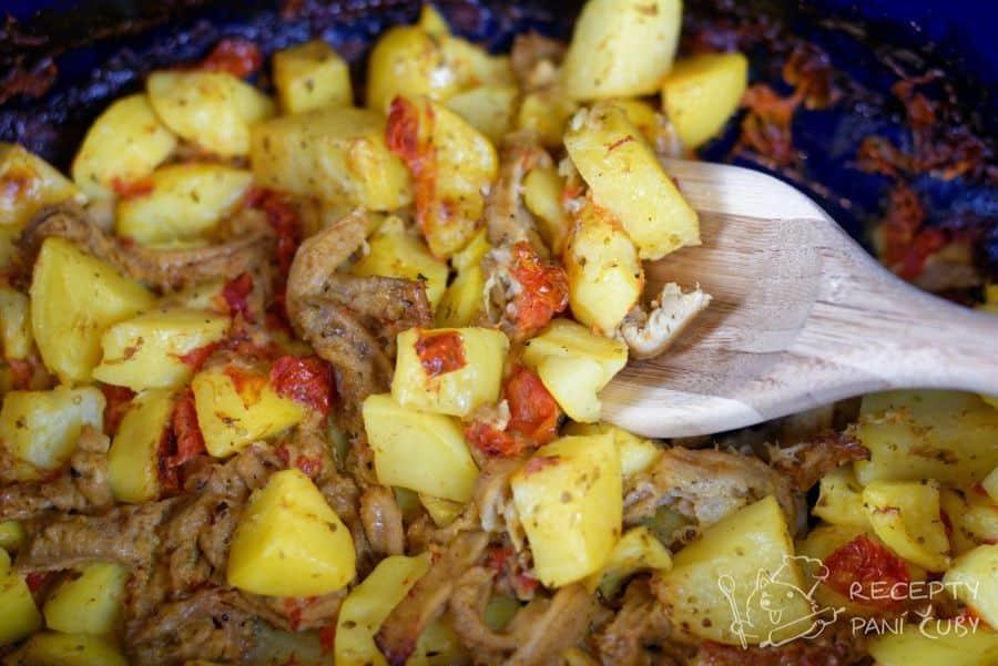 Hlavní fotka k receptu Zapečené dršťky s bramborami