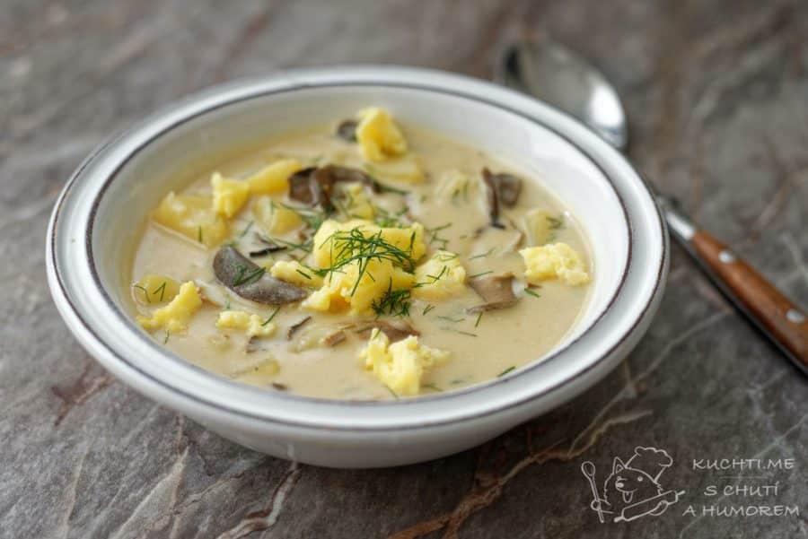 Hlavní fotka k receptu Kulajda s houbami a koprem