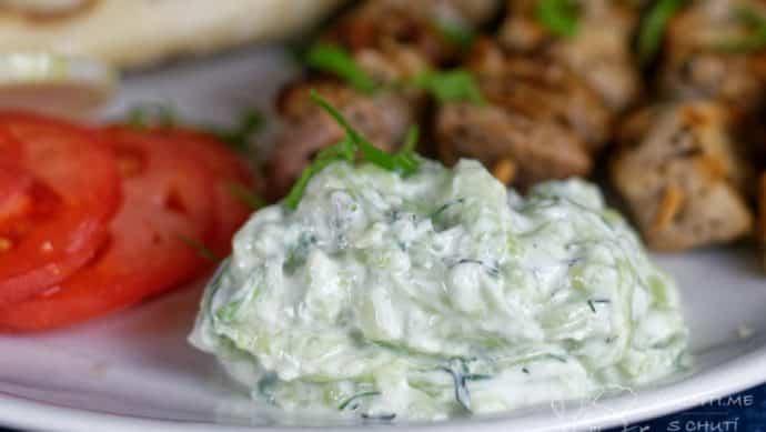 Řecké tzatziki - co teprve tzatziki se souvlaki