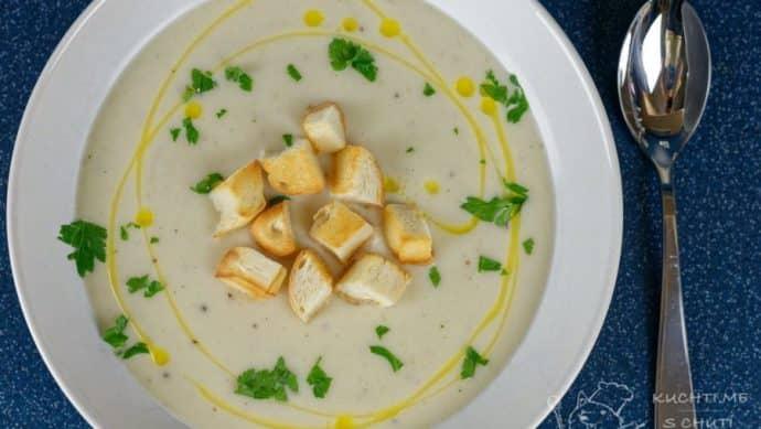 Krémová květáková polévka - závěrečná nádhera