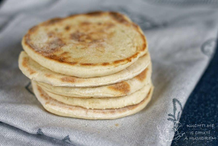 Hlavní fotka k receptu Jednoduchý pita chléb