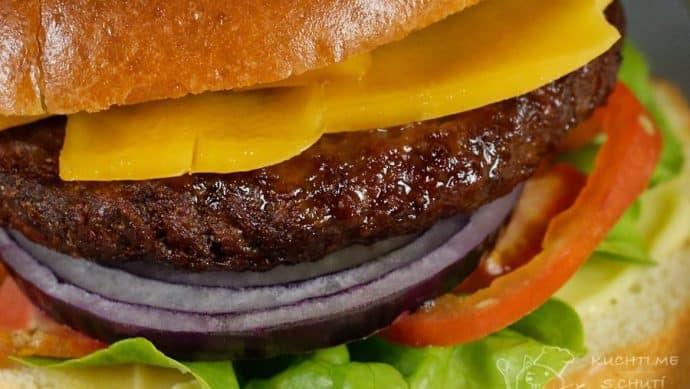 Klasický hovězí hamburger - dobrůtka
