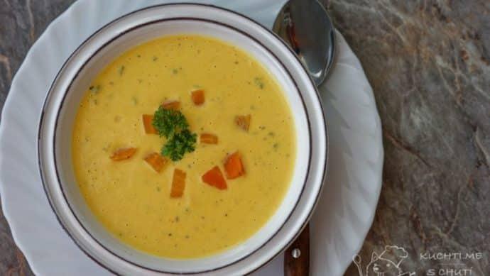 Mrkvová polévka - mrkvová nádhera podruhé