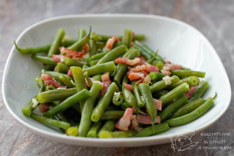 Hlavní fotka k receptu Zelené fazolky se slaninou