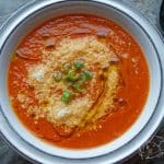Jednoduchá rajčatová polévka
